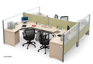 Traditional Office Furniture Wooden Workstation Partition pictures & photos