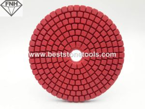 Diamond Granite Polishing Pad with Standard Shape Red Color
