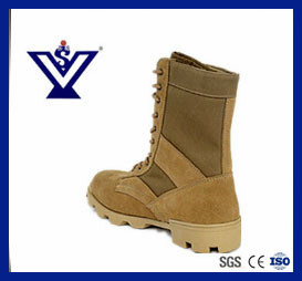 Military Tactical Safety Boots Desert Boots Combat Boots (SYSG-010) pictures & photos