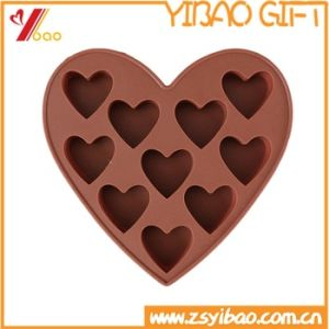 Custom Design 100% Food Grade Heart Shaped Silicone Cake Mold pictures & photos