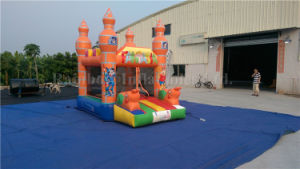 Hot Sale Custom Party Combo Inflatable Bouncer with Slide for Children Game pictures & photos