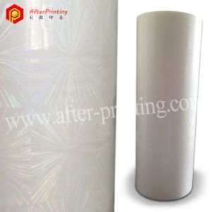 High Quality Transparent BOPP/Pet Holographic Hot/Heat/Thermal Laminated/Lamination Film