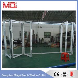 Powder Coated Aluminum Profile Bifolding Glass Patio Door for Sale pictures & photos