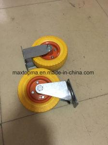 Sunstar Brand 6X2 PU Foam Wheel pictures & photos
