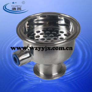 Extractor Parts Triclamp Reducer with Screen pictures & photos