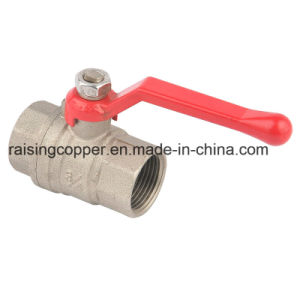 Brass Ball Valve with Aluminium Handle pictures & photos
