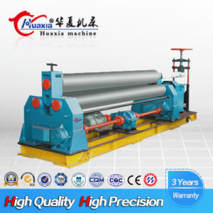 CNC Hydraulic Plate Rolling Machine, W11 Symmetric Rolling Machine with Three Rollers pictures & photos