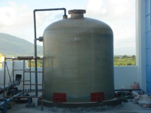 Chemical Storage Tank Made of Fiberglass pictures & photos