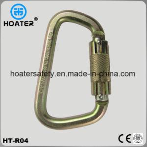 High Strength Quick Steel Carabiner with Ce Certificate En362 pictures & photos