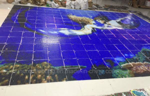 Pattern Design Mosaic Tile, Swimming Pool Mosaic (HSP333) pictures & photos