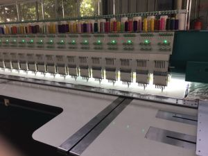 30 Head 6 Colors Flat Embroidery Machine pictures & photos