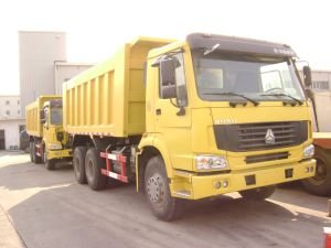 HOWO Tipper Truck with Mining Cargo Box pictures & photos