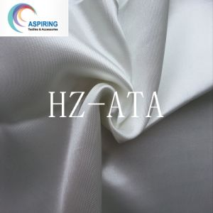 White Polyester Wholesale Satin Fabric for Wedding pictures & photos