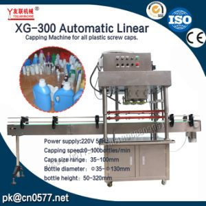 Xg-300 Automatic Linear Capping Machine for All Plastic Screw Caps pictures & photos