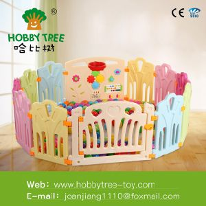 Baby Large Playpen Safety Kids Plastic Fence Baby New Design Indoor Game Modern Kids Cheap pictures & photos