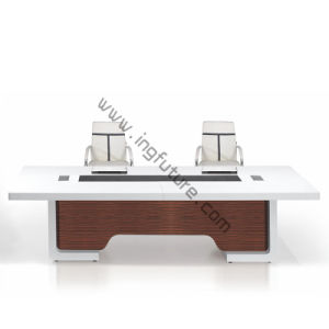 High Grade Nice Double Wooden Office Desk pictures & photos