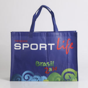 Non Woven Shopping Tote Bag with Customized Logo (YYNWB081) pictures & photos