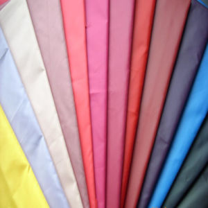 100% Poly Taffeta Fabric for Garment Lining Fabric pictures & photos
