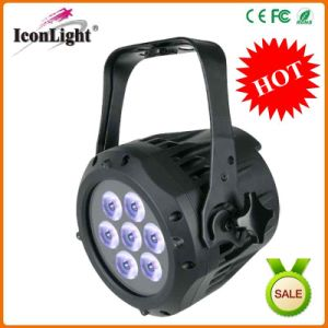 Outdoor 7X10W RGBW 4in1 PAR Light for Disco with Ce pictures & photos