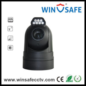 IP Network PTZ Camera HD-Tvi Rugged Vehicle PTZ Dome Camera pictures & photos