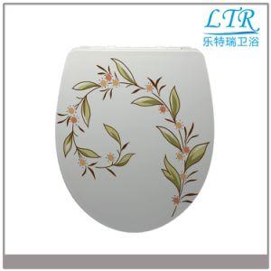 Quiet Close Stain Resistant Classical Toilet Seat pictures & photos