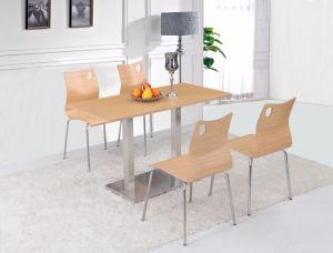Sh001 Metal Dining Table and Dining Chair Dining Room Furniture pictures & photos