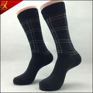 High Quality Black Socks for Gentleman Style pictures & photos