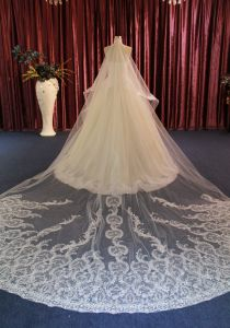 A Line Sweetheart Wedding Dress with Veil pictures & photos