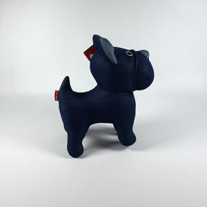 Soft Cotton Fabric Dog Jean Toy pictures & photos