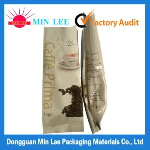 Fashion Heat Seal Sealing & Handle and Laminatedl Material Aluminum Foil Coffee Bag pictures & photos