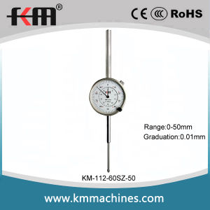 High Quality 0-50mm Mechanical Dial Indicator Gauge with 0.01mm Graduation pictures & photos
