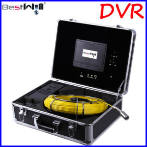 Waterproof 23mm Pipe Inspection Camera CR110-7D with 7′′ Digital LCD Screen DVR Video Recording with 20m to 100m Fiberglass Cable pictures & photos