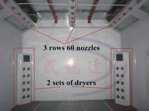 Wld8400 High Quality Water Based Paint Spray Booth pictures & photos