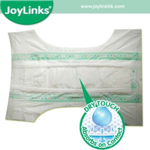 Disposable Infant Diapers with Large Stretchy Waistband pictures & photos
