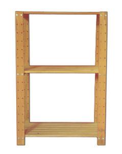 Three Tiers Wooden Storage Rack Kitchen Cabinet pictures & photos