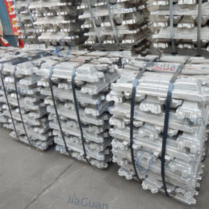 Supply High Purity 99.7% Aluminum Ingot at Cheap Price pictures & photos