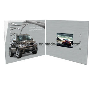 Customized 4.3′′ LCD Display Advertising Promotion Video Business Card (VC-043) pictures & photos