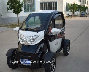 Hot Sales 800W 40km/H Mini 3 Wheels Electric Car 4seats pictures & photos