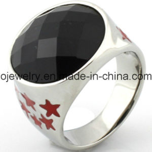 Star Rings with Black Agate pictures & photos