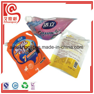 Plastic Bag for Washing Liquid Packaging with Nozzle pictures & photos