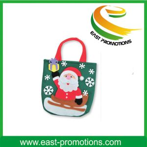 Christmas Tree and Snowman Felt Bag with pictures & photos