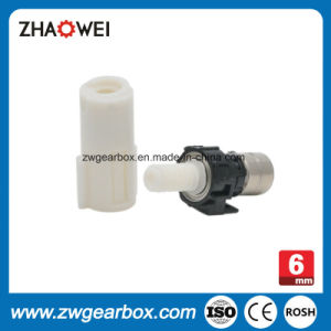 High Precision 6mm Small Stepper Gear Motor with Worm Gearbox pictures & photos