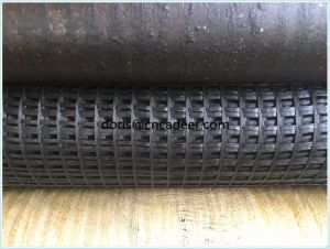 Warp Knitted Fiberglass Geogrid for Slope Reinforcement pictures & photos