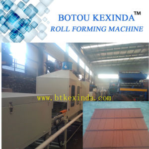 Stone Coated Roof Tile Forming Machine Production Line pictures & photos