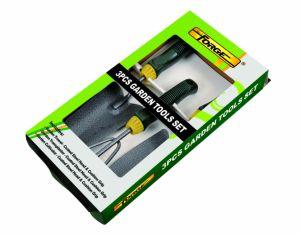 3PCS Garden Tools Set Including Hand Trowel, Transplanter, Cultivator, Shovel, Spade pictures & photos