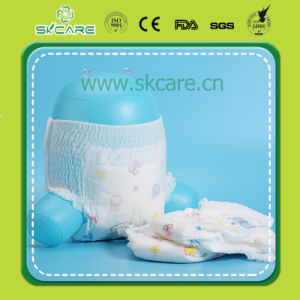Economic 3D Topsheet Dry Soft Cotton Lovely Pull up Baby Diapers pictures & photos