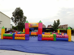 Custom Colorful Inflatable Fence for Kids pictures & photos