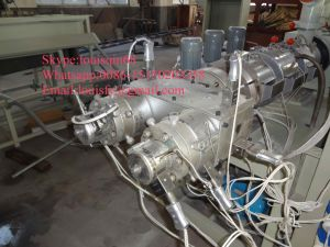 16mm-50mm PVC Double Pipe Extrusion Machine pictures & photos