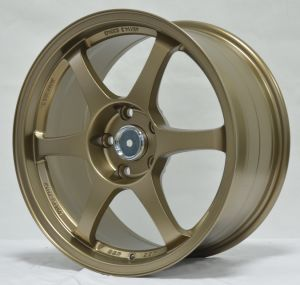 Aftermarket alloy wheels with brwon machine face pictures & photos