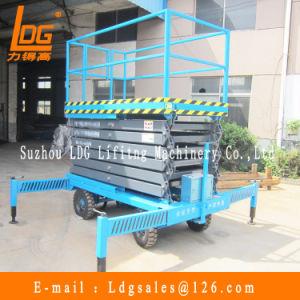10m Hydraulic Electric Scissor Man Lift Platform (SJY0.5-9) pictures & photos